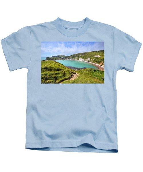 Lulworth Cove - England Kids T-Shirt