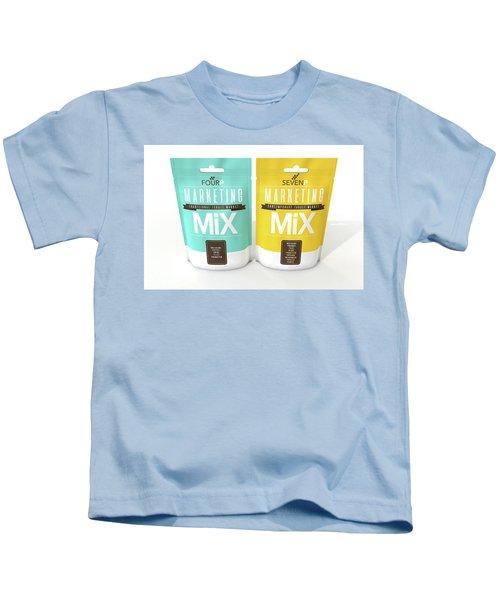 Marketing Mix 4 And 7 P's Kids T-Shirt