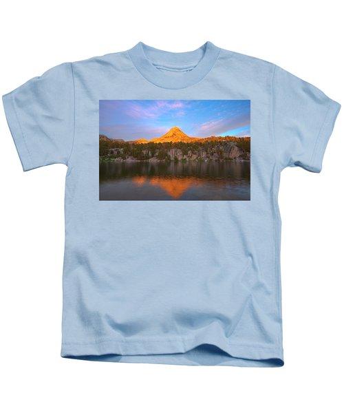 Pinnacle Sunset Kids T-Shirt