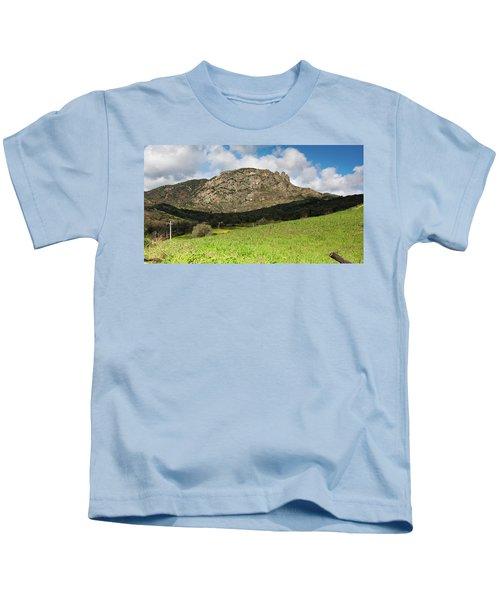 The Three Finger Mountain Kids T-Shirt