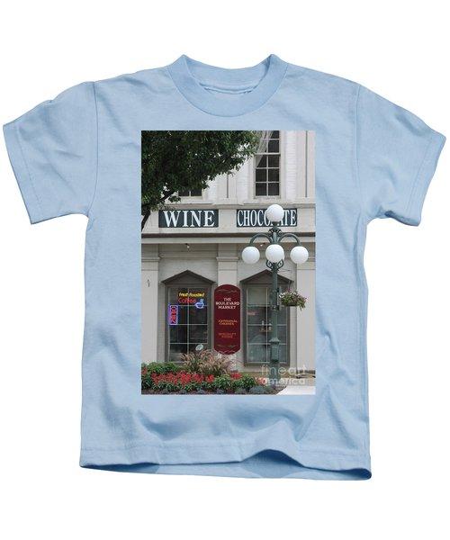 Wine And Chocolate Kids T-Shirt