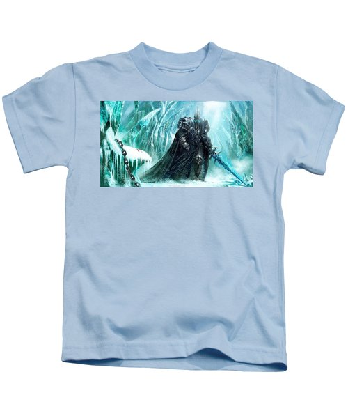 World Of Warcraft Wrath Of The Lich King Kids T-Shirt