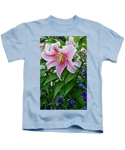 2015 Summer At The Garden Event Garden Lily 3 Kids T-Shirt