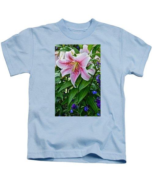 2015 Summer At The Garden Event Garden Lily 3 Kids T-Shirt