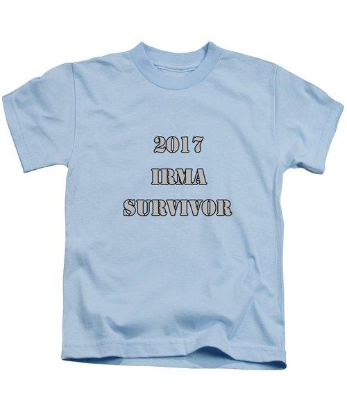 2017 Irma Survivor Kids T-Shirt