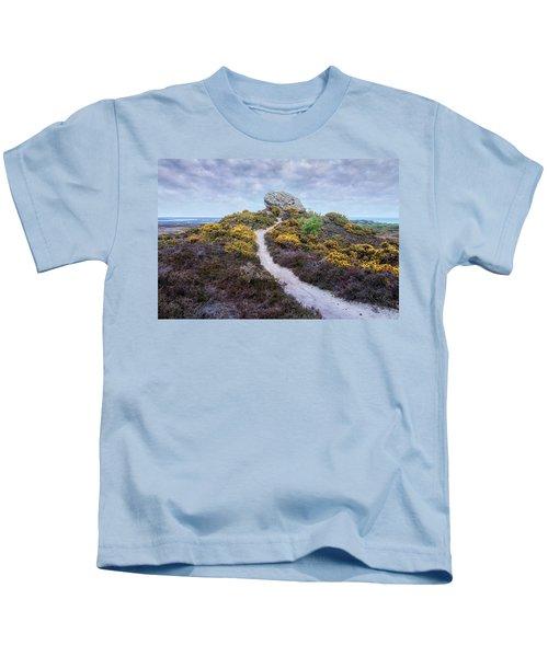 Agglestone Rock - England Kids T-Shirt