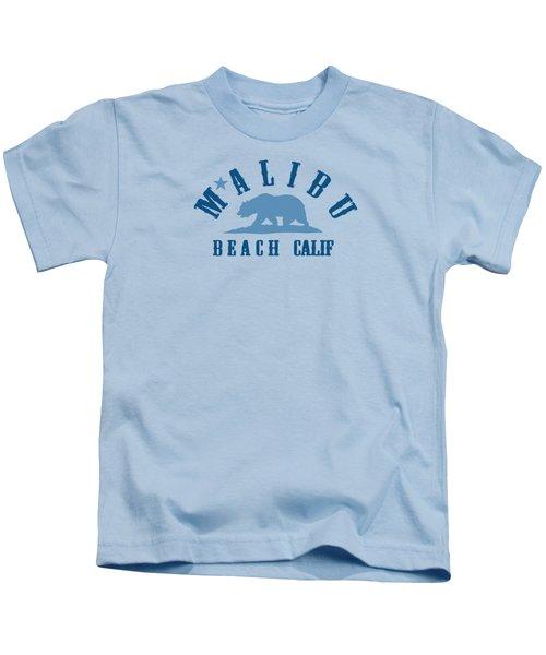 Malibu California. Kids T-Shirt