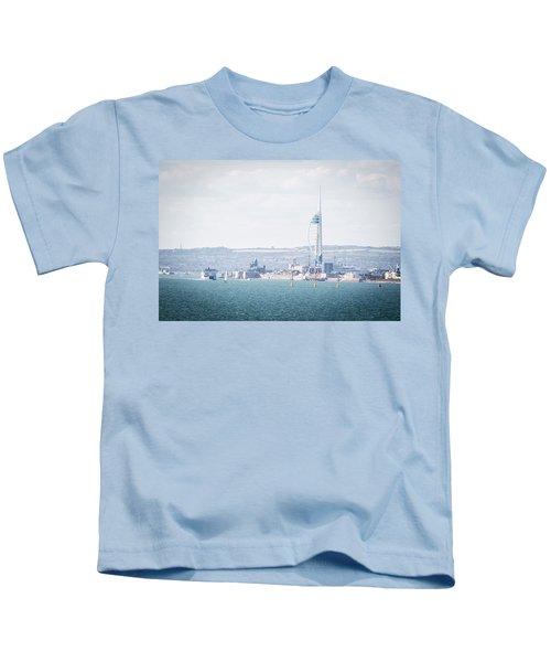 Spinnaker Tower Kids T-Shirt