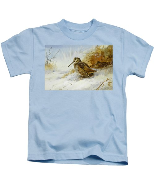Winter Woodcock Kids T-Shirt