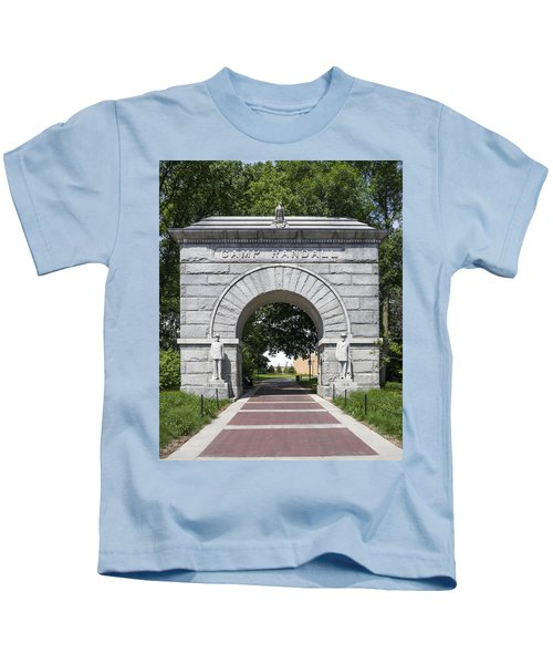 Camp Randall Memorial Arch - Madison Kids T-Shirt