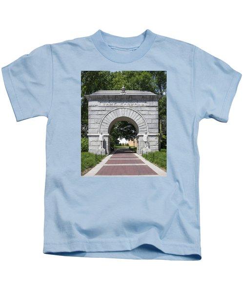 Camp Randall Memorial Arch - Madison Kids T-Shirt