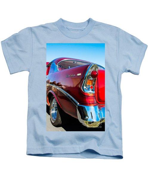 56 Chevy Bel Air Kids T-Shirt