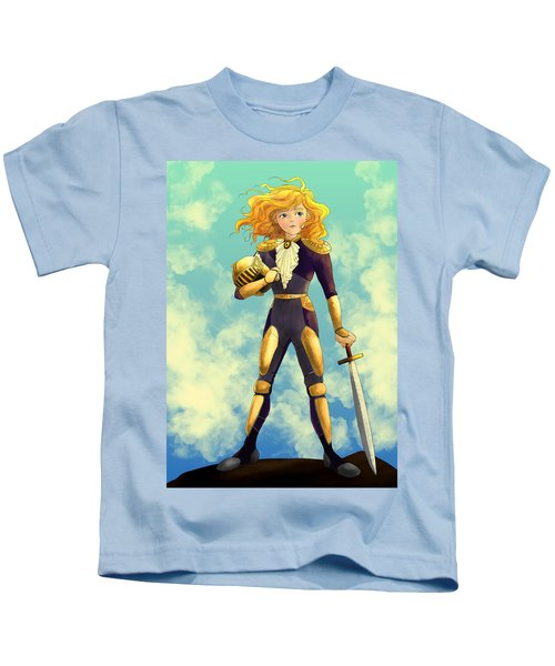 Tammy Wurtherington Freedom Fighter Kids T-Shirt