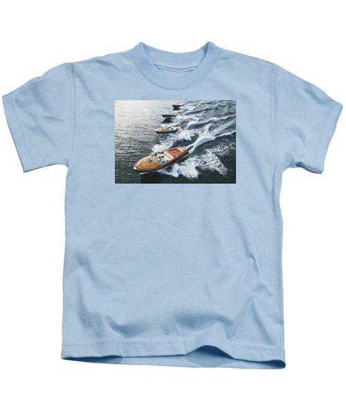 Riva Runabouts Kids T-Shirt