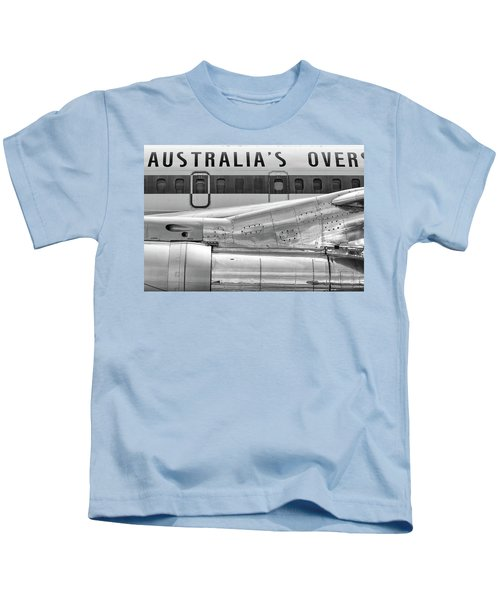 707 Nacelle And Fuselage Kids T-Shirt