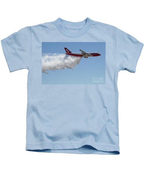 747 Supertanker Drop Kids T-Shirt