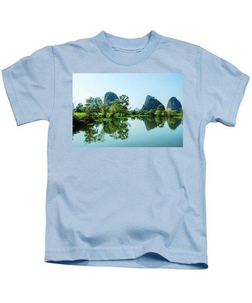 Karst Rural Scenery Kids T-Shirt