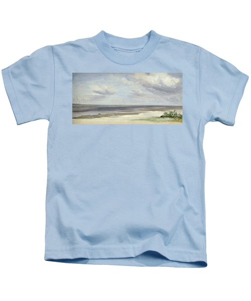 A Beach On The Baltic Sea At Laboe Kids T-Shirt
