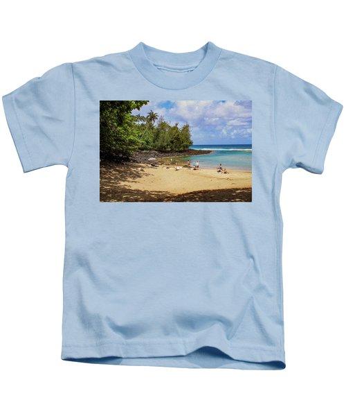 A Day At Ke'e Beach Kids T-Shirt