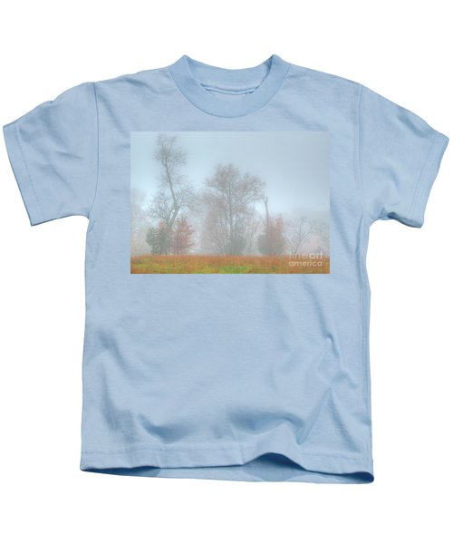 A Foggy Morning Kids T-Shirt