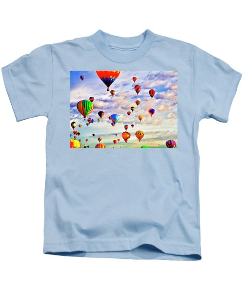A Great Day To Fly Kids T-Shirt