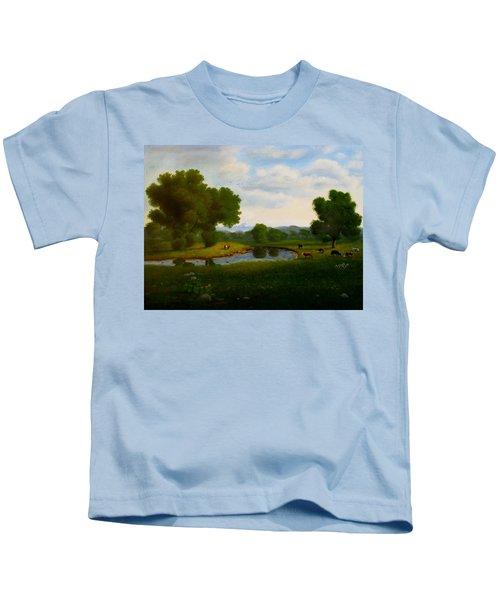 A Pastoral Landscape Kids T-Shirt