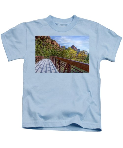 A Scenic Hike Kids T-Shirt