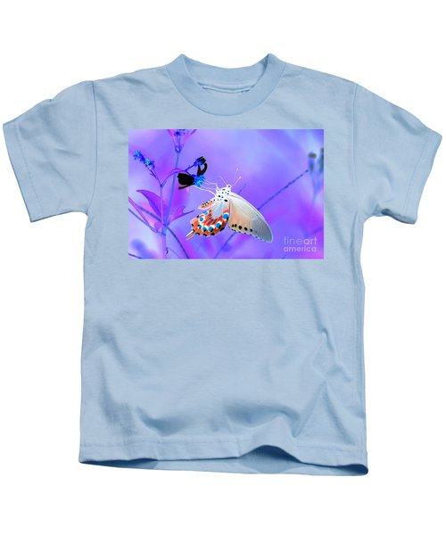 A Strange Butterfly Dream Kids T-Shirt