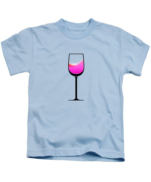 A Touch Of Wine Kids T-Shirt