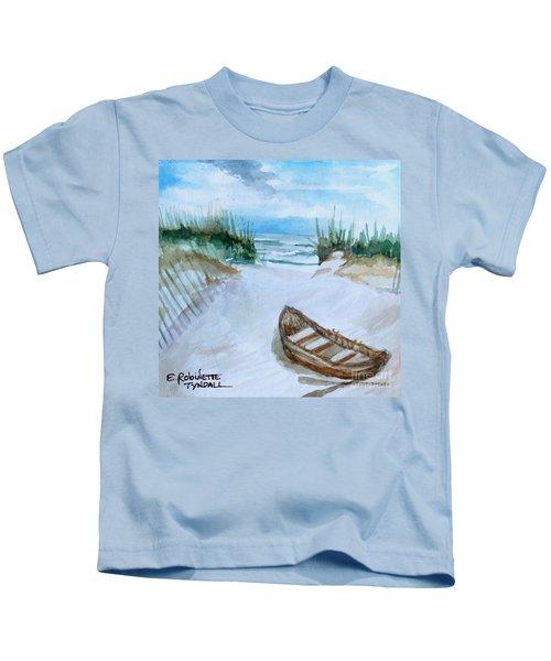 A Trip To The Beach Kids T-Shirt