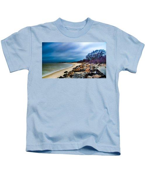 A Winter's Beach Kids T-Shirt