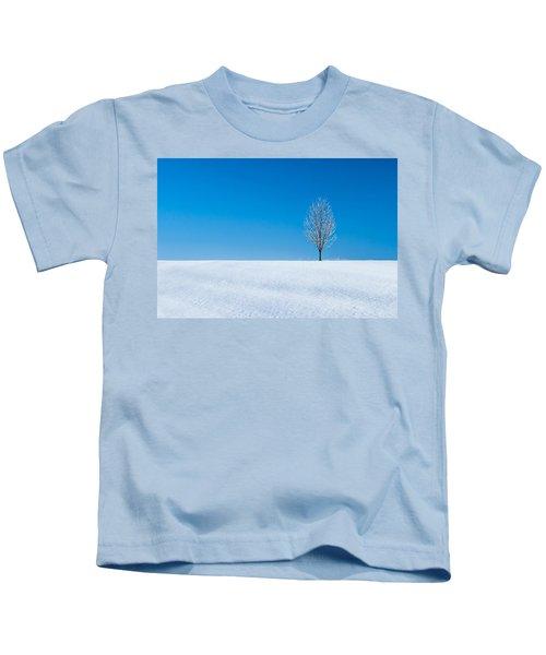 A Winter's Landmark Kids T-Shirt