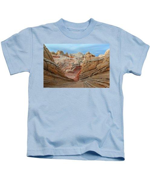A World In Turmoil Kids T-Shirt