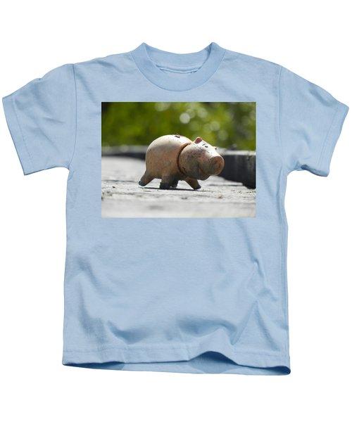 Abandoned On The Boardwalk Kids T-Shirt