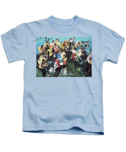 Abandoned Souls Kids T-Shirt