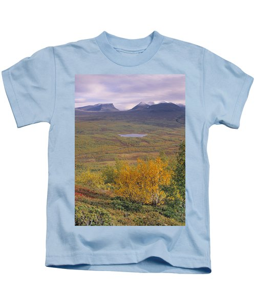 Abisko Nationalpark Kids T-Shirt