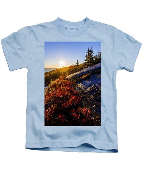 Above Bar Harbor Kids T-Shirt