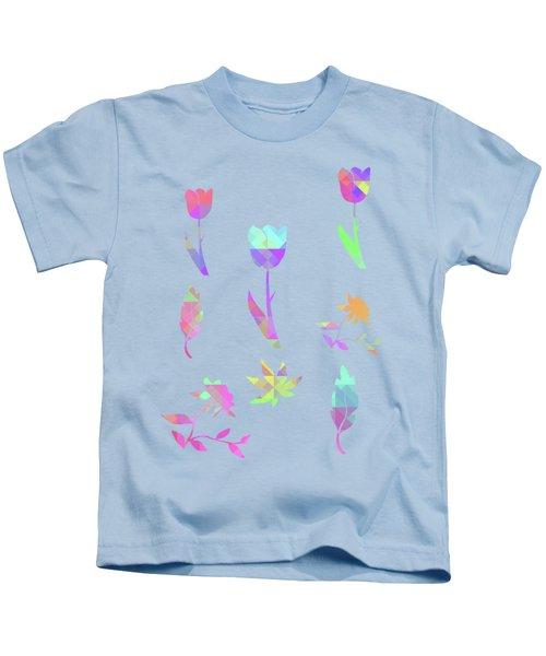 Abstract 433 Kids T-Shirt