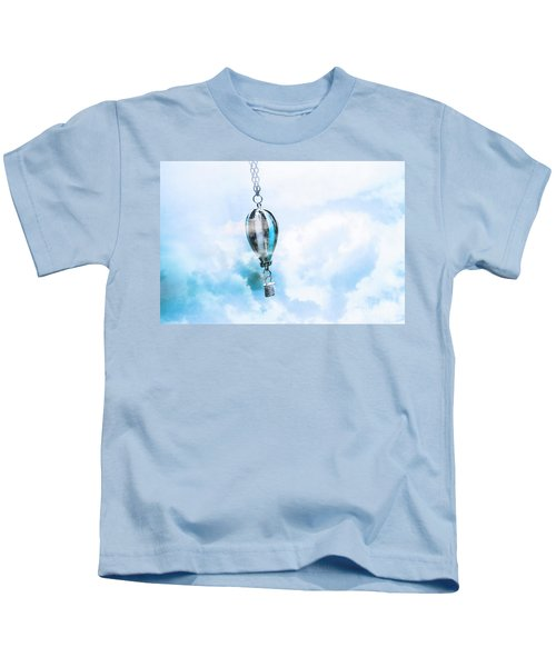 Abstract Air Baloon Hanging On Chain Kids T-Shirt