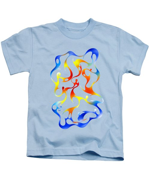 Geoceonom V3 - Abstract Artwork Kids T-Shirt