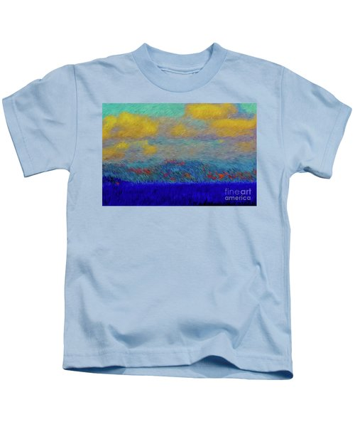 Abstract Landscape Expressions Kids T-Shirt