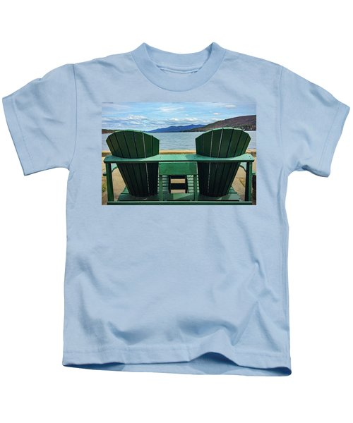 Adirondack Chair For Two Kids T-Shirt
