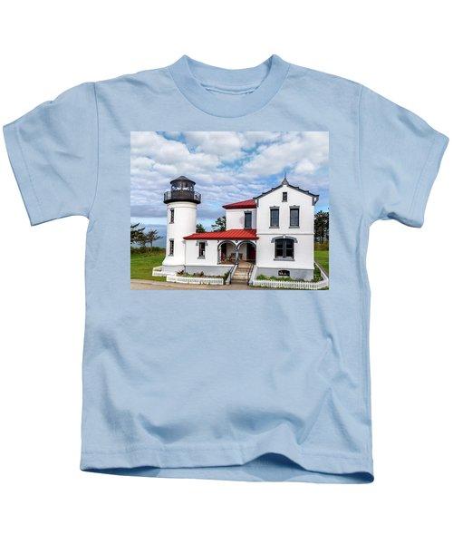 Admiralty Head Lighthouse Kids T-Shirt