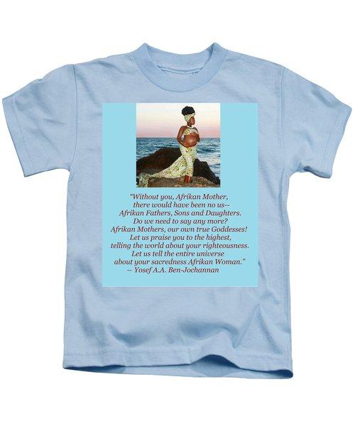 Afrikan Mother Kids T-Shirt