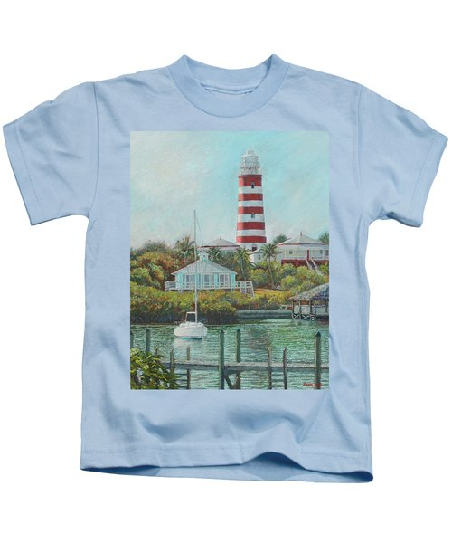 Afternoon In Hope Town Kids T-Shirt