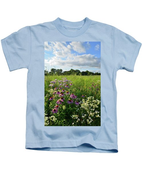 Afternoon In Moraine Hills State Park Kids T-Shirt