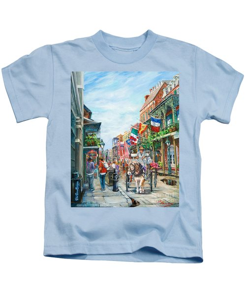 Afternoon On St. Ann Kids T-Shirt