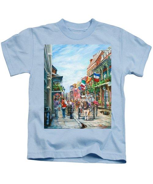 Afternoon On St. Ann Kids T-Shirt