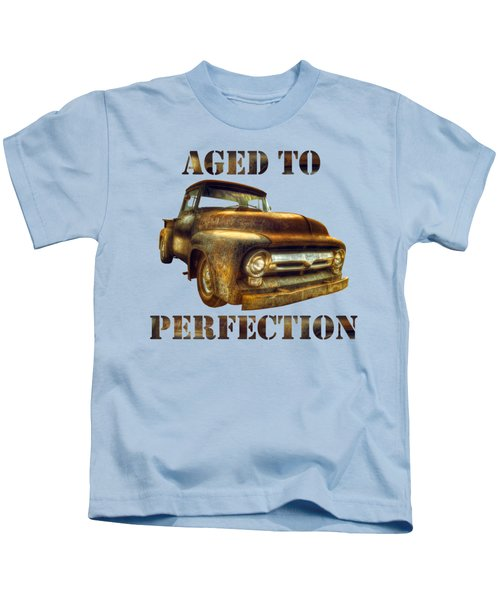 Aged To Perfection Kids T-Shirt