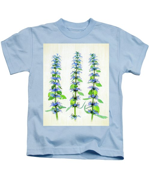 Ajuga Blooms Kids T-Shirt